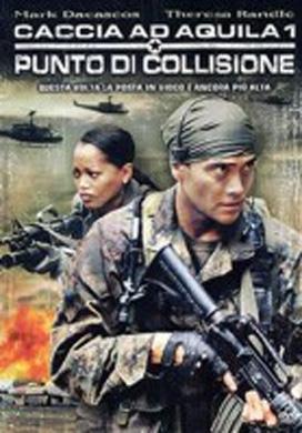 La copertina DVD di Caccia ad Aquila 1 - Punto di collisione