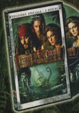 La copertina DVD di Pirati dei Caraibi - La maledizione del forziere fantasma