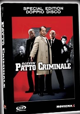 La copertina DVD di Slevin - Patto criminale - Edizione Deluxe