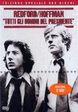 La copertina DVD di Tutti gli uomini del presidente - Edizione speciale