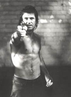 Mel Gibson in una foto promozionale del film 'Arma Letale'