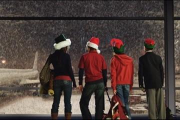 Una scena del film Mi sono perso il Natale