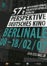Berlinale 2007: il manifesto della sezione Perspektive Deutsche Kino.