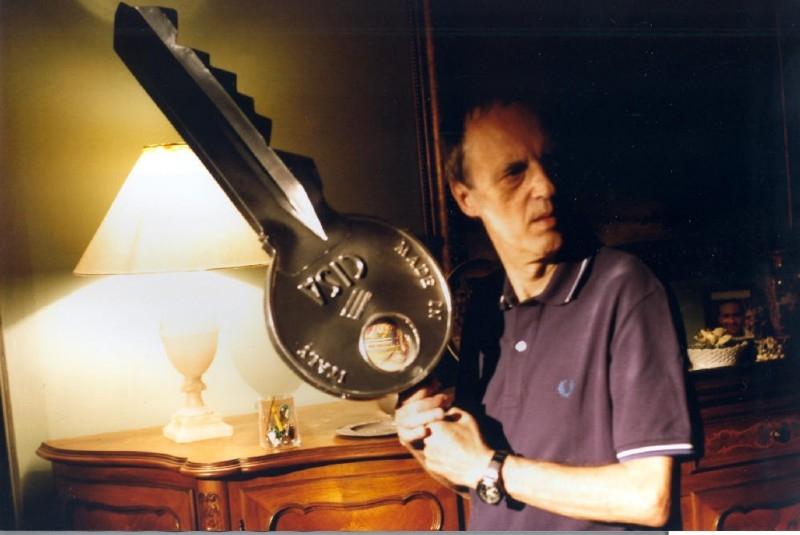 Dario Argento sul set del film Ti piace Hitchcock?