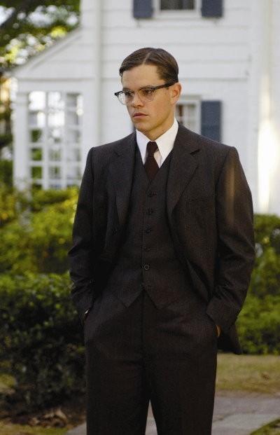 Matt Damon in una immagine del film The Good Shepherd