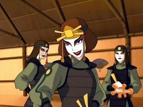 Un'immagine della serie 'Avatar: la leggenda di Aang'