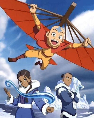 Un'immagine promozionale della serie 'Avatar: The Last Airbender'