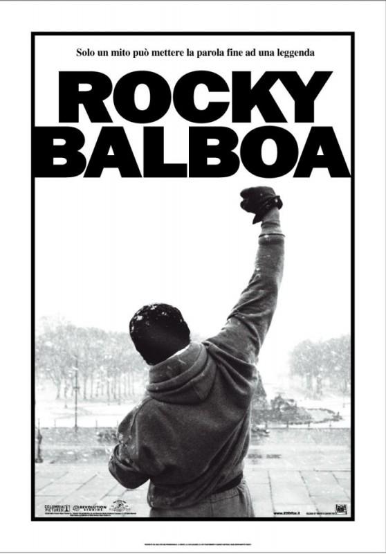 La locandina italiana di Rocky Balboa