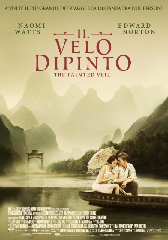La locandina italiana di The Painted Veil