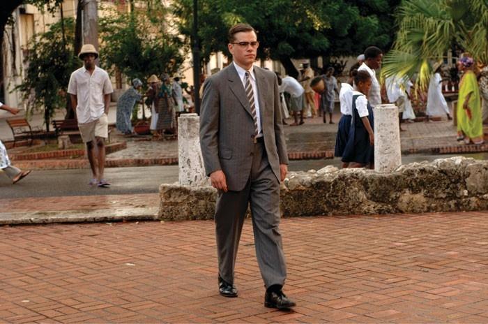 L'attore Matt Damon in una scena del film The Good Shepherd