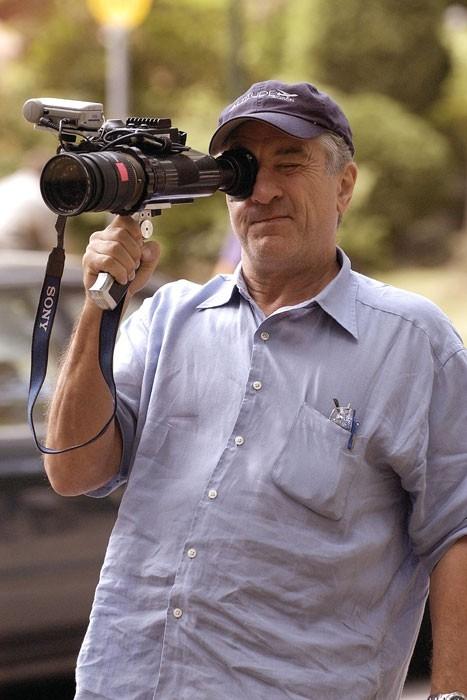 Robert De Niro sul set del film The Good Shepherd