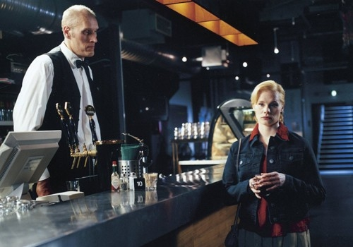 Una immagine del film Le luci della sera