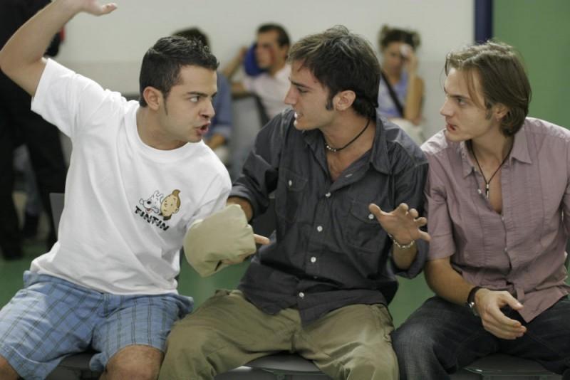 Nicolas Vaporidis in una scena del film Notte prima degli esami - Oggi