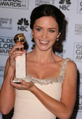 Emily Blunt premiata per Devils Wears Prada ai Golden Globes 2007