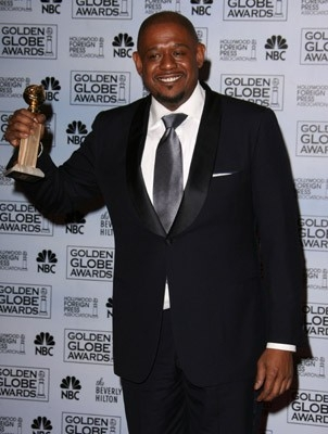 Forest Whitaker premiato per The Last King of Scotland ai Golden Globes Awards 2007