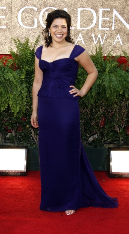Golden Globes 2007, America Ferrera, protagonista di Ugly Betty