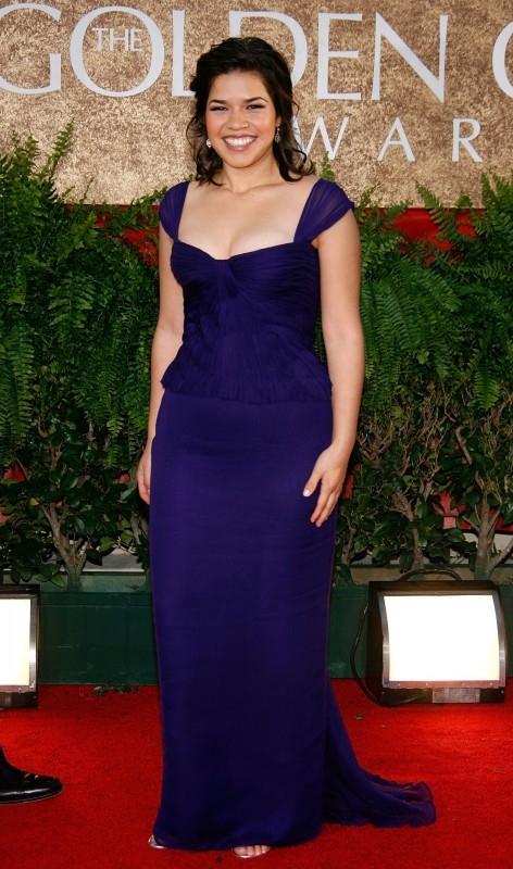 Golden Globes 2007, la protagonista di Ugly Betty America Ferrera
