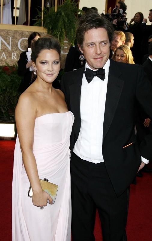 Golden Globes 2007, Drew Barrymore e Hugh Grant