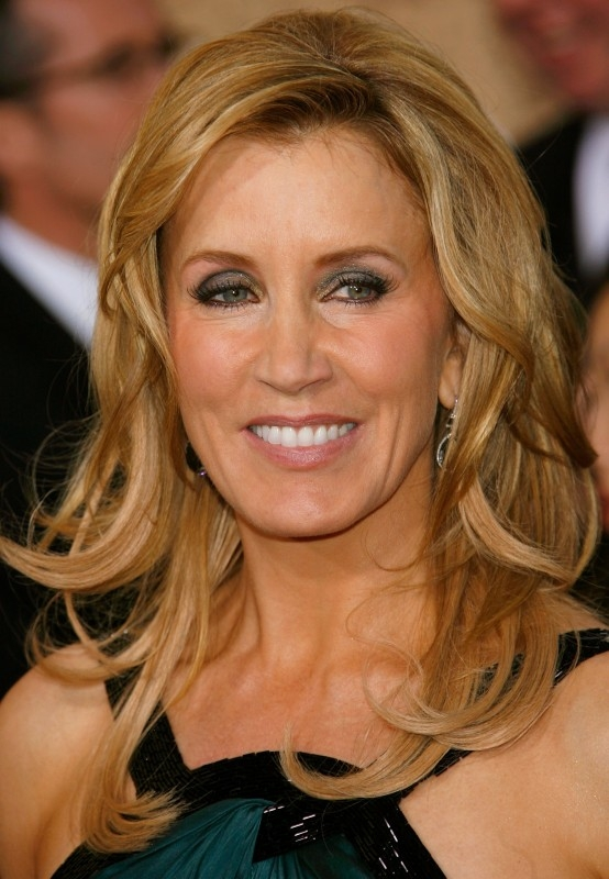 Golden Globes 2007, un bel primo piano di Felicity Huffman
