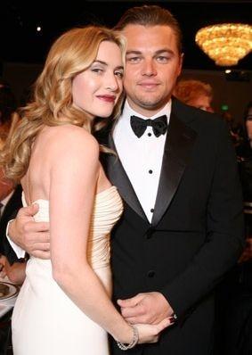 Golden Globes 2007, Leonardo DiCaprio e Kate Winslet