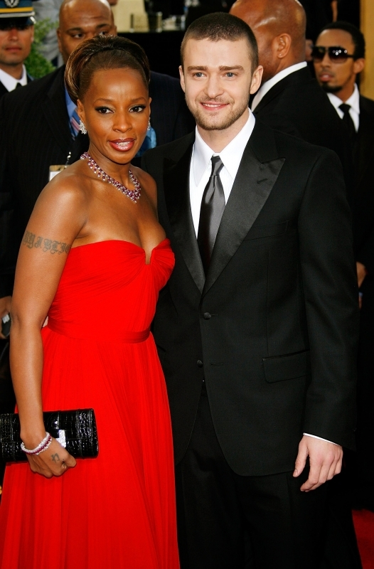 Golden Globes 2007, Mary J. Blige e Justin Timberlake