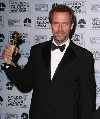 Hugh Laurie premiato per Dr House ai Golden Globes 2007