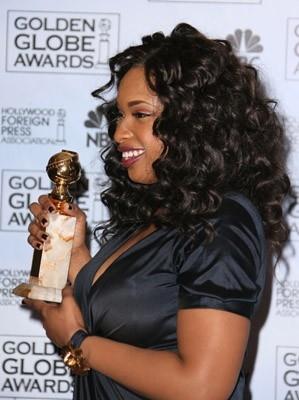 Jennifer Hudson premiata per Dreamgirls ai Golden Globes 2007