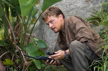 Leonardo DiCaprio in una scena del film Blood Diamond - Diamanti di sangue