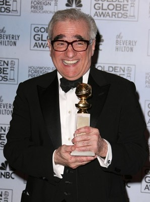 Martin Scorsese premiato per The Departed ai Golden Globes nel 2007