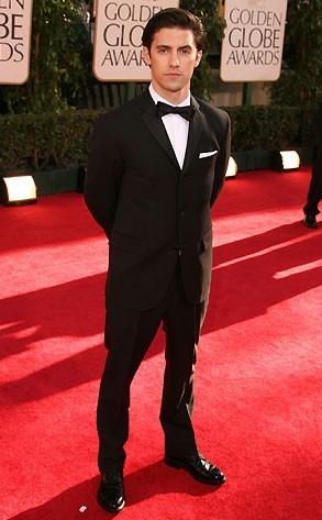 Milo Ventimiglia ai Golden Globes 2007