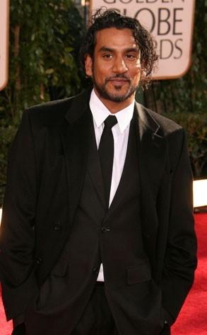 Naveen Andrews ai Golden Globes 2007