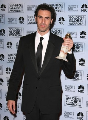 Sacha Baron Cohen premiato per Borat ai Golden Globes '07