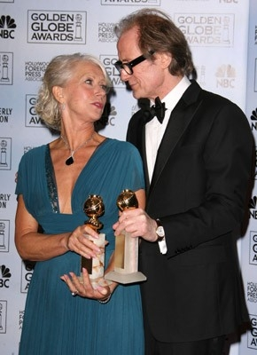 Bill Nighy e Helen Mirren tra i vincitori dei Gloden Globes 2007