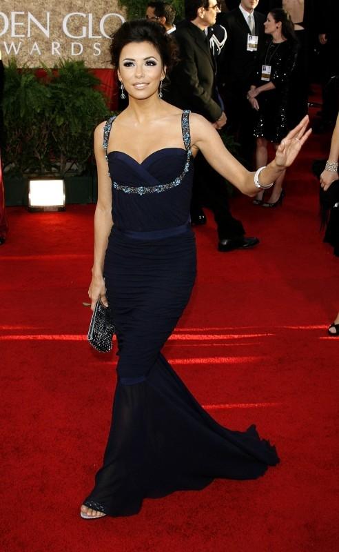 Eva Longoria Parker ai Golden Globes 2007