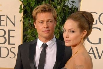 Golden Globes 2007, Brad Pitt e Angelina Jolie