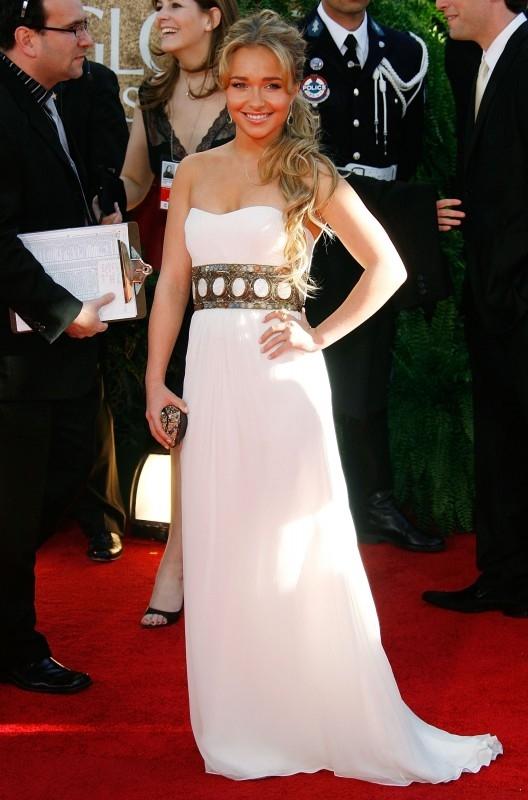 Hayden Panettiere ai Golden Globes 2007