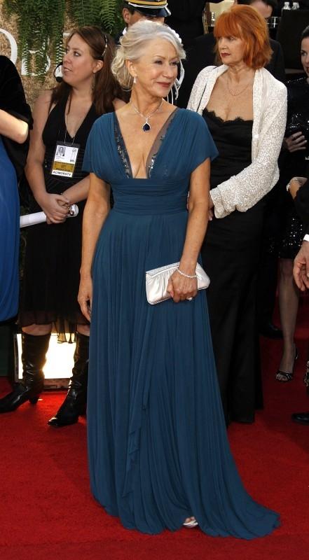 Helen Mirren regina indiscussa dei Golden Globes 2007, sul red carpet