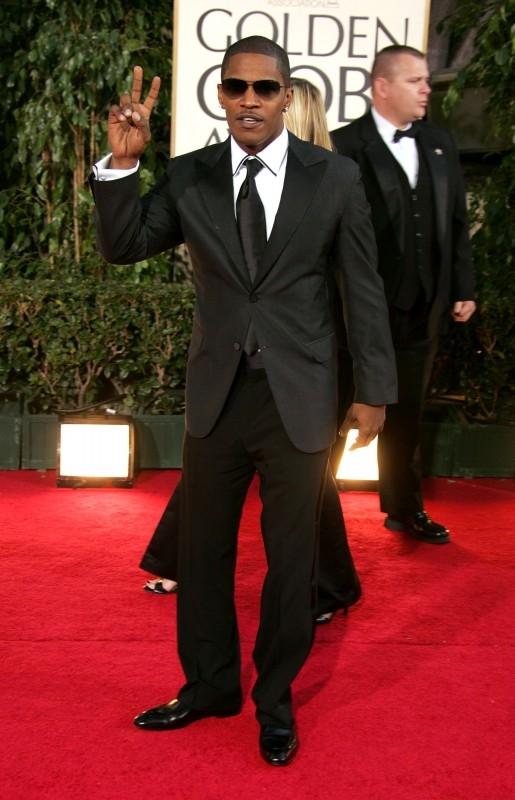 Jamie Foxx ai Golden Globes 2007
