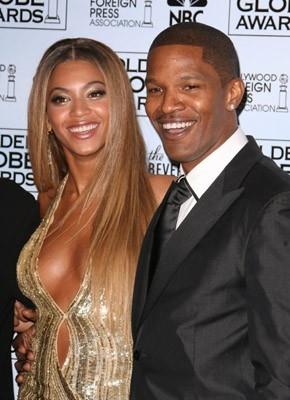 Jamie Foxx e Beyoncé Knowles ai Golden Globes 2007