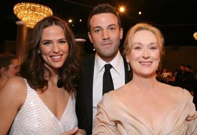 Jennifer Garner, Meryl Streep e Ben Affleck ospiti del Golden Globes 2007