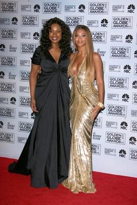 Jennifer Hudson e Beyoncé Knowles ai Golden Globes 2007