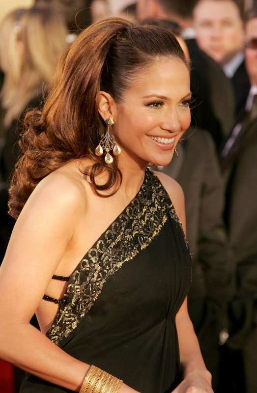 Jennifer Lopez ai Golden Globes 2007