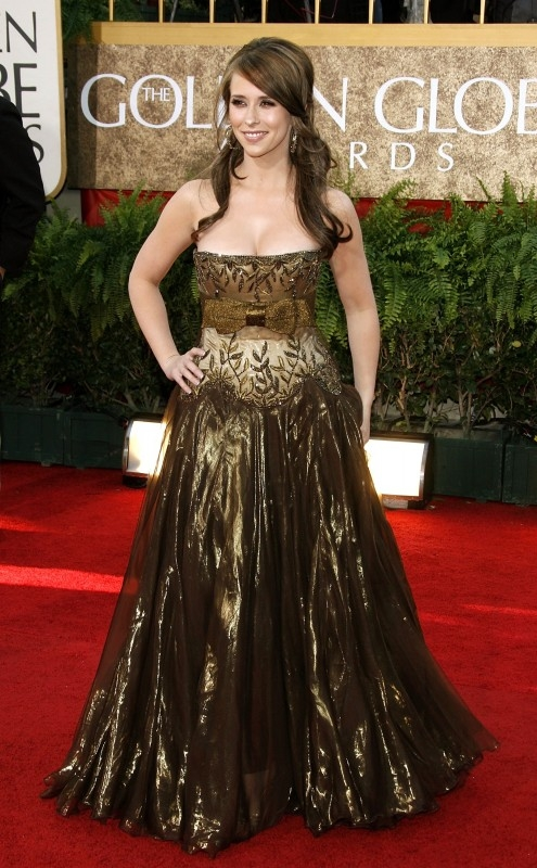 Jennifer Love Hewitt sul red carpet Golden Globes 2007