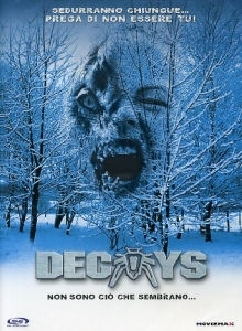 La copertina DVD di Decoys