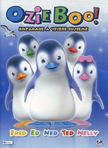 La copertina DVD di Ozie Boo! Imparare a vivere insieme - 1