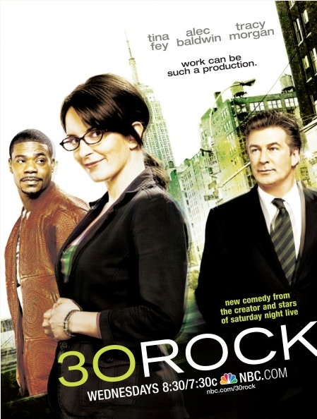 La locandina di 30 Rock