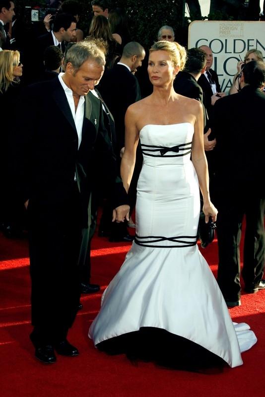 Nicollette Sheridan e Michael Bolton ai Golden Globes 2007
