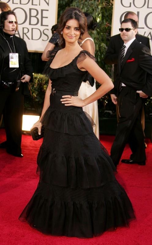 Penelope Cruz sul red carpet ai Golden Globes 2007