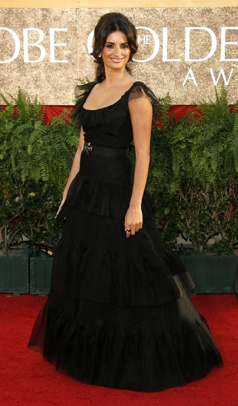 Penelope Cruz ai Golden Globes 2007