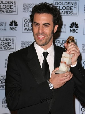 Sacha Baron Cohen premiato per Borat ai Golden Globes 2007
